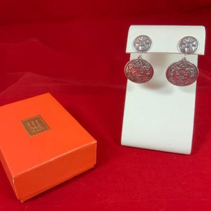 James Avery RETIRED/RARE Sterling Sun Earrings
